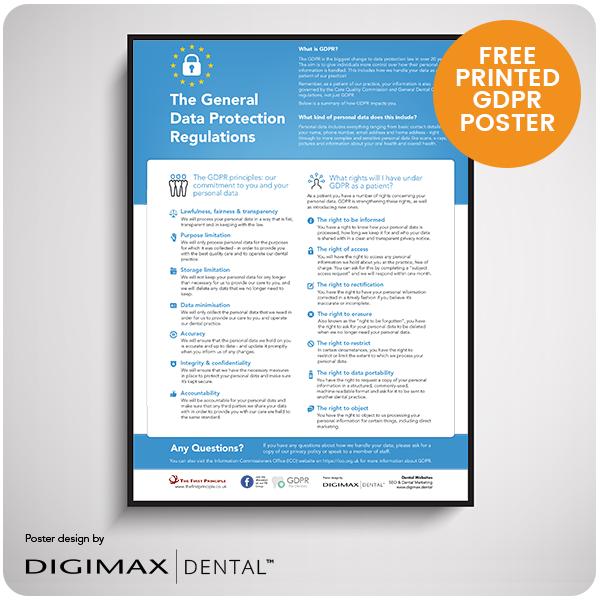 free-dental-gdpr-poster